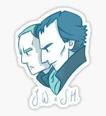 Duo of 221B Baker Street Sticker