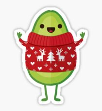 Avo Merry Christmas! Sticker
