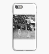 Dead Help Here Funny Ironic Ambulance iPhone Case/Skin