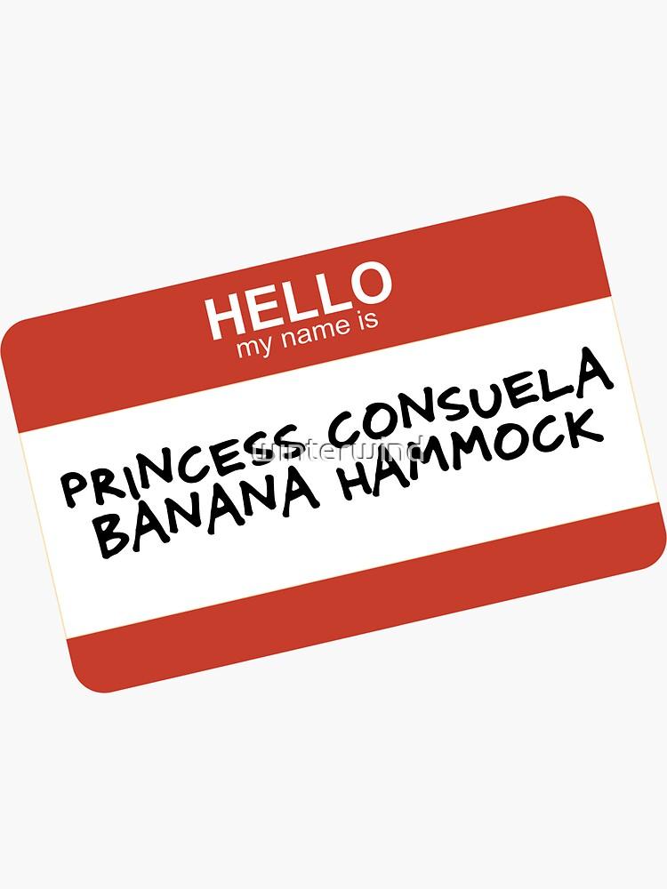 Hamaca de princesa Consuela Banana de winterwind