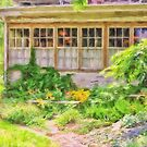 The Garden At Juniata Crossings by Lois  Bryan