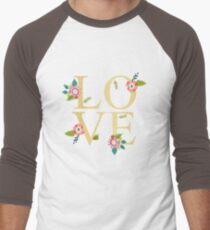Love Gold And Floral  T-Shirt