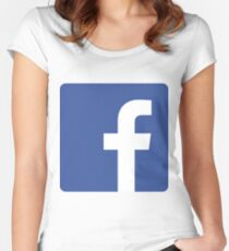 Facebook Women's Fitted Scoop T-Shirt