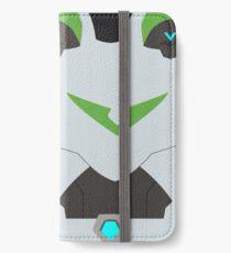 Der grüne Paladin iPhone Flip-Case/Hülle/Klebefolie