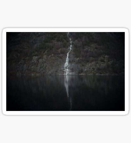 Waterfall (The Unknown) Sticker