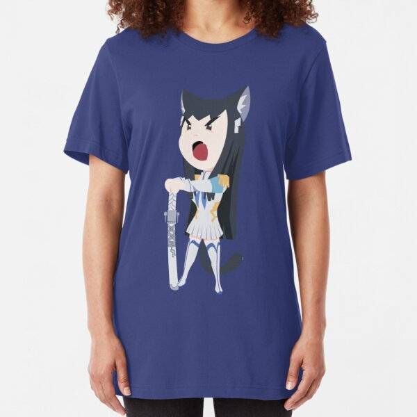 Kiryuin Satsukitty Slim Fit T-Shirt