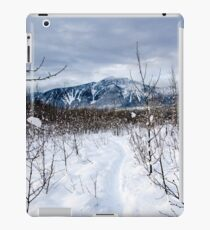 Snow day Revelstoke  iPad Case/Skin