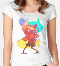 BFFs Fitted Scoop T-Shirt