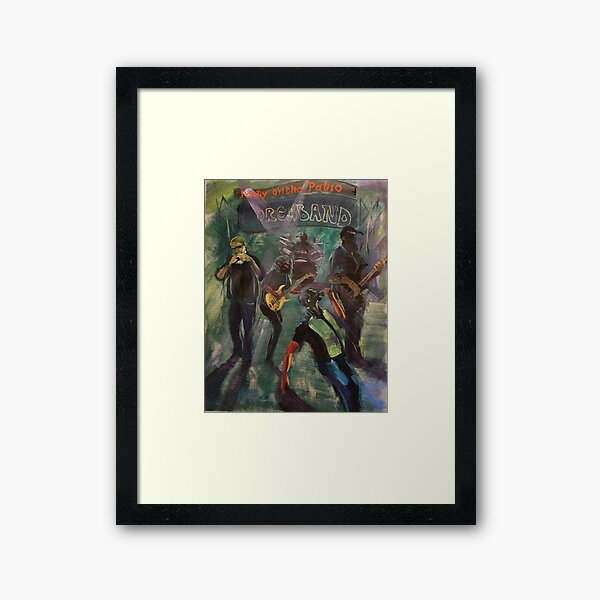 Party On The Patio 3 Orcaband Framed Art Print