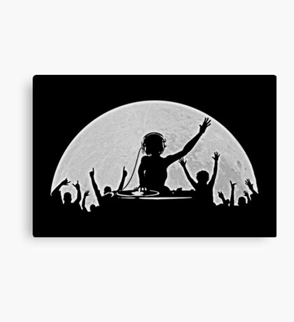 Full Moon Party Canvas Print