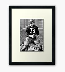 Sammy Baugh Framed Print