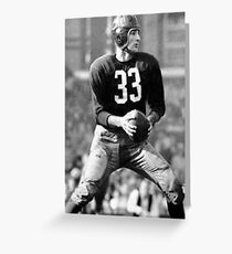 Sammy Baugh Greeting Card