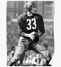 Sammy Baugh Poster