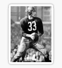 Sammy Baugh Sticker
