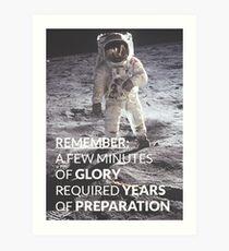 Motivational - Prepare for Success Art Print