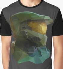 Low Poly Master Chief Graphic T-Shirt