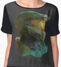 Low Poly Master Chief Chiffon Top