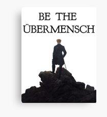 Simple Ubermensch Canvas Print