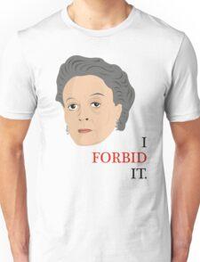 Downton Abbey - Maggie Smith - Violet Crawley Unisex T-Shirt