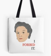 Downton Abbey - Maggie Smith - Violet Crawley Tote Bag