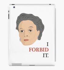 Downton Abbey - Maggie Smith - Violet Crawley iPad Case/Skin