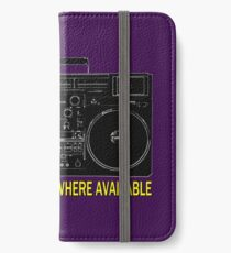 In Sterry-erry-o Where Available! iPhone Wallet/Case/Skin