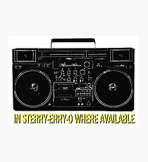 In Sterry-erry-o Where Available! Photographic Print