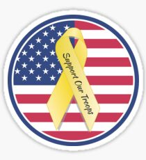 Support Our American Troops Sticker