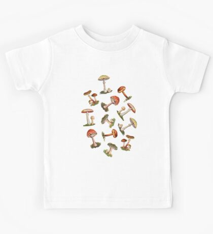 Mushrooms Kids Clothes