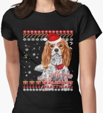Cavalier King Charles Spaniel Ugly Christmas Sweater Shirt T-Shirt