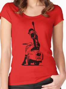 Fooly Cooly - Haruko Vespa Women's Fitted Scoop T-Shirt