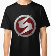 Metroid/Screw Attack Logos Classic T-Shirt