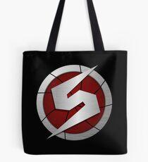 Metroid/Screw Attack Logos Tote Bag