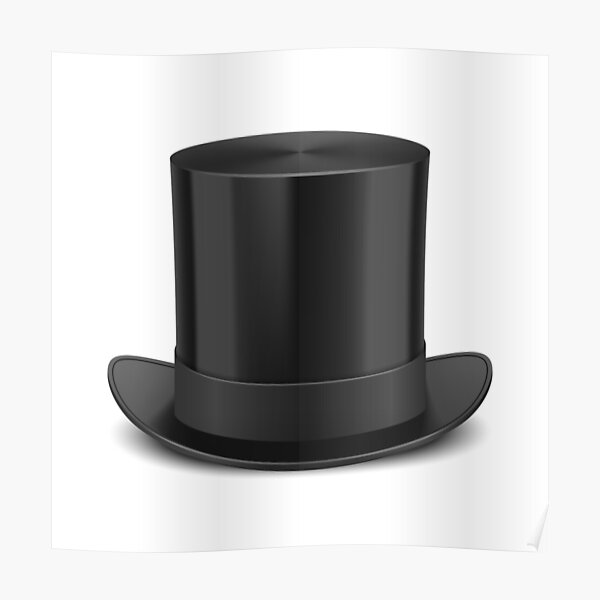STOVEPIPE TOP HAT VICTORIAN FANCY DRESS SCROOGE MURDER THEME OUTFIT PARTY
