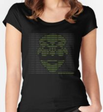 Hack the World Women's Fitted Scoop T-Shirt