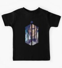 Doctor Who - Logo mash up Kids Clothes