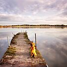 Jetty with a view by LadyFi