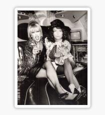Patsy and Eddie Sweetie Darling Sticker