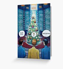 Star Trek Christmas Greeting Card