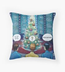 Star Trek Christmas Throw Pillow