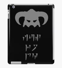 Skyrim Dovahkiin Fus Ro Dah iPad Case/Skin
