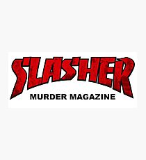 Slasher Magazine Photographic Print