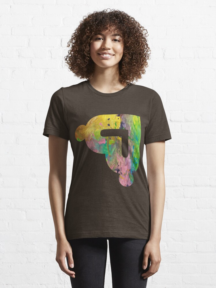Alternate view of Communified Logo - Splashes of Colour Essential T-Shirt