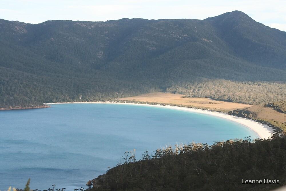 Wine Glass Bay - Tasmania by Leanne Davis