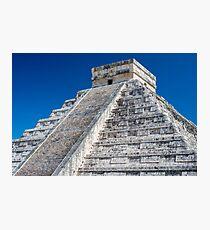 El Castillo in Chichen Itza Photographic Print