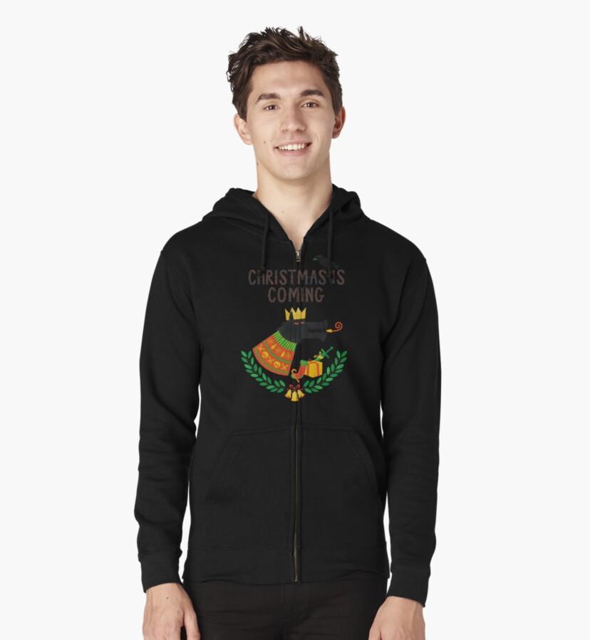 Christmas is coming Slim Fit TShirt Gift Trending Design T Shirt