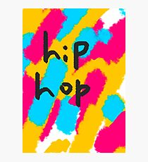 hip hop abstract painting  Photographic Print