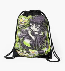 Strange and Unusual Drawstring Bag