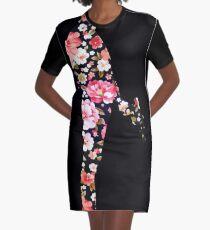 Han Foloral Graphic T-Shirt Dress