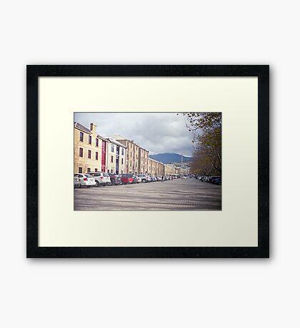 Salamanca Place Framed Print